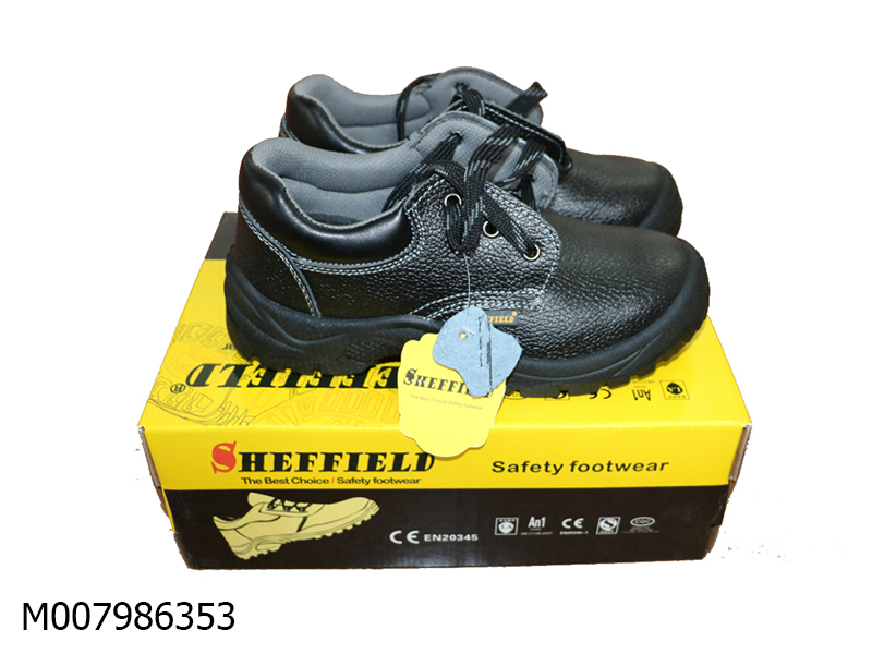 Sheffield Black Safety shoes